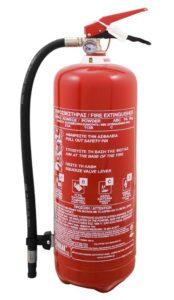Φορητός Πυροσβεστήρας Ξηράς Κόνεως 6kg