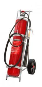 Τροχήλατος Πυροσβεστήρας 45Kg CO2